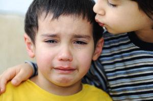 distressed siblings