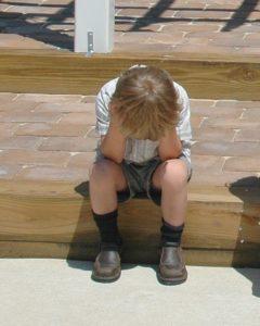 dejected child of divorce
